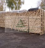 Ash firewood in 2 m3 crate