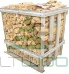 Ader firewood in 1m3 crate