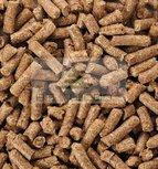Hay pellets for bedding